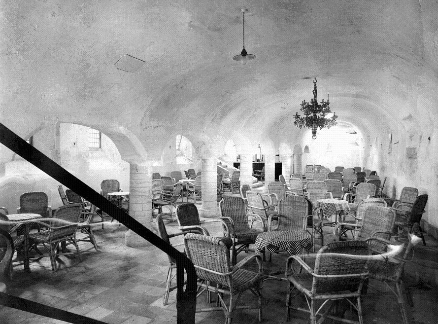 De Prinsenkelder na de restauratie in 1948